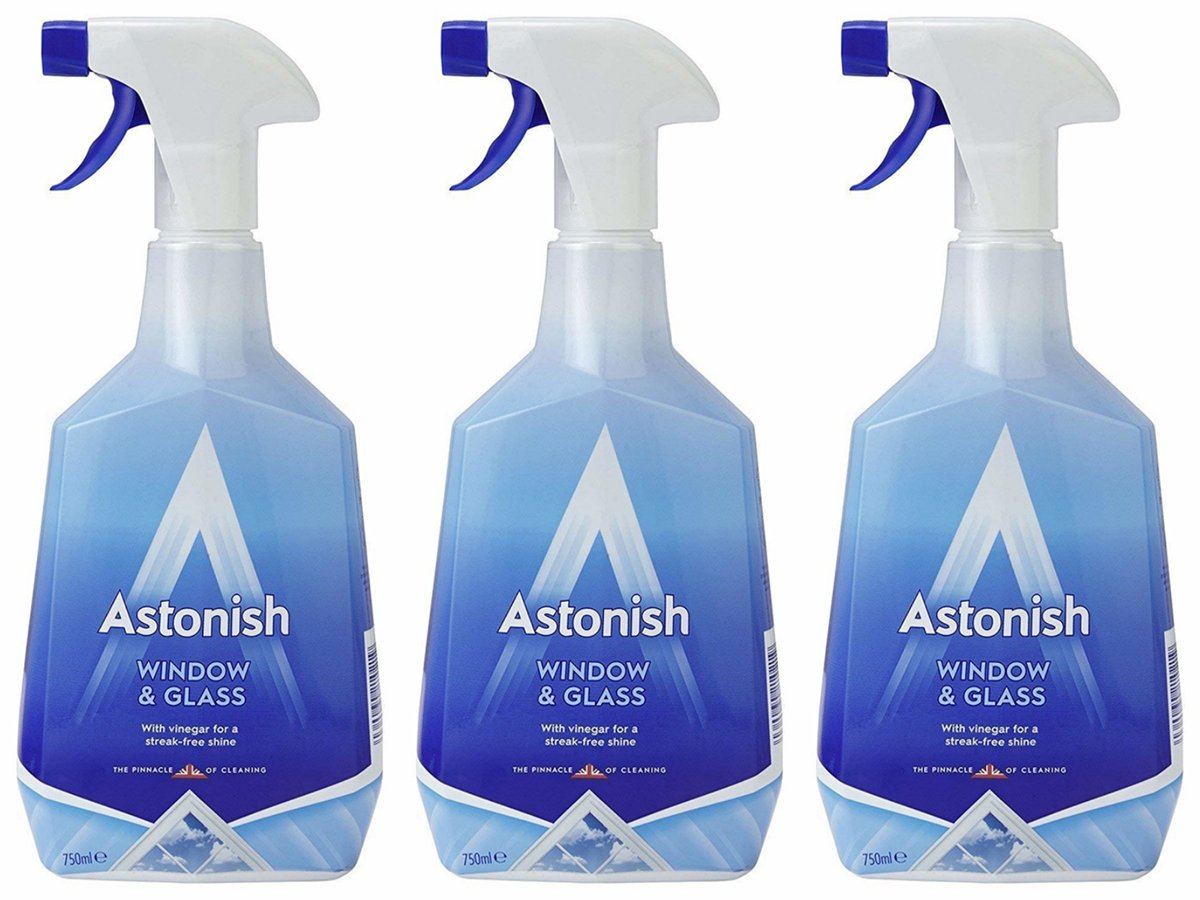 DIRECT FROM UK-WINDOW & GLASS CLEANER 3 PCS PACK (Clearance)