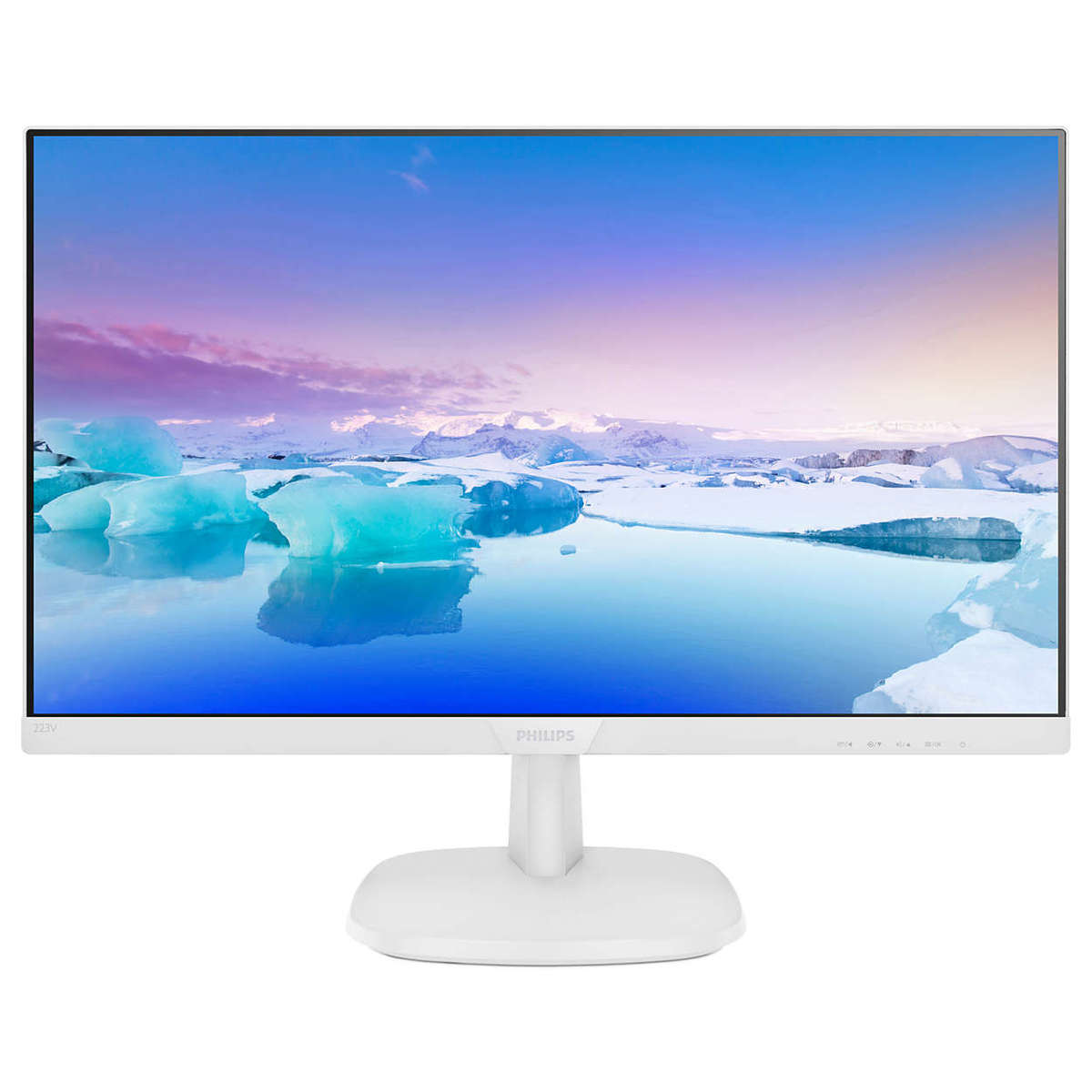 """21.5"""" WITHE FHD Monitor  (223V7QHAW)"""