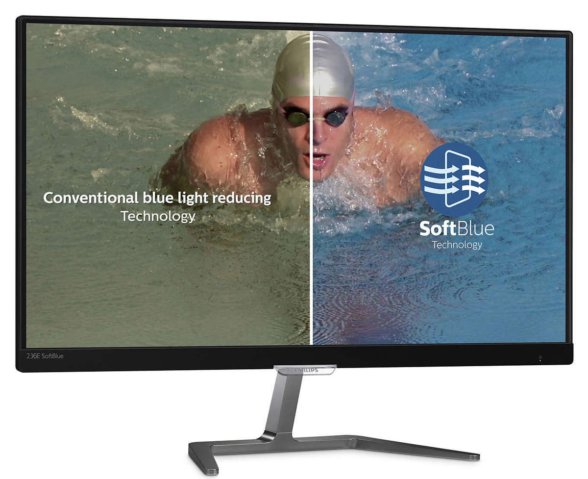 "23"" LCD monitor with SoftBlue Technology (236E7EDAB)"