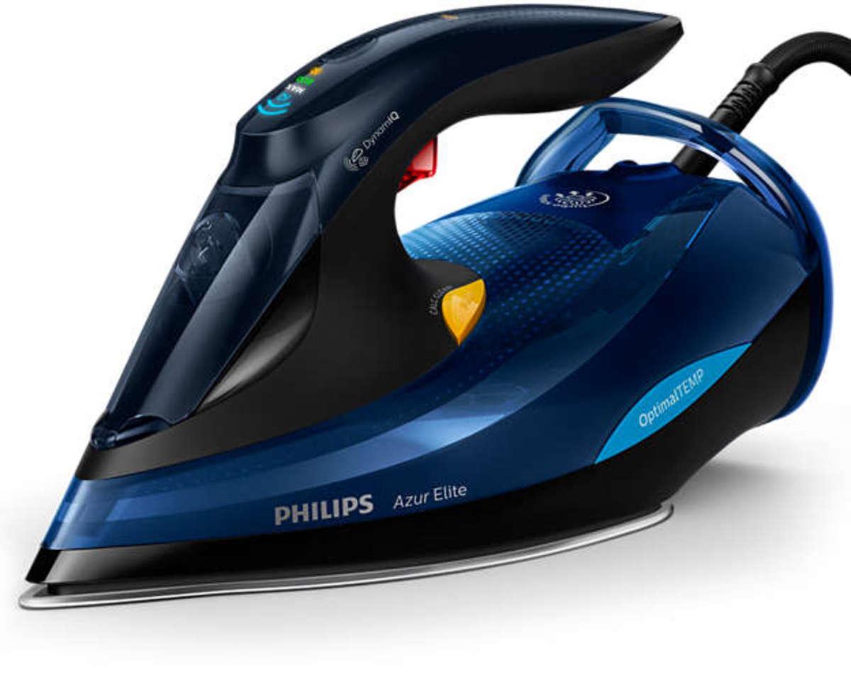 Azur Elite 免調校溫控技術的蒸氣熨斗 配備 OptimalTEMP (GC5030)