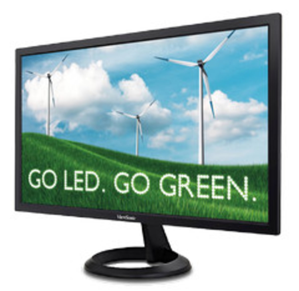 """21.5"""" Full HD LED with exclusive ViewSonic Flicker-Free technology (VA2261-3)"""