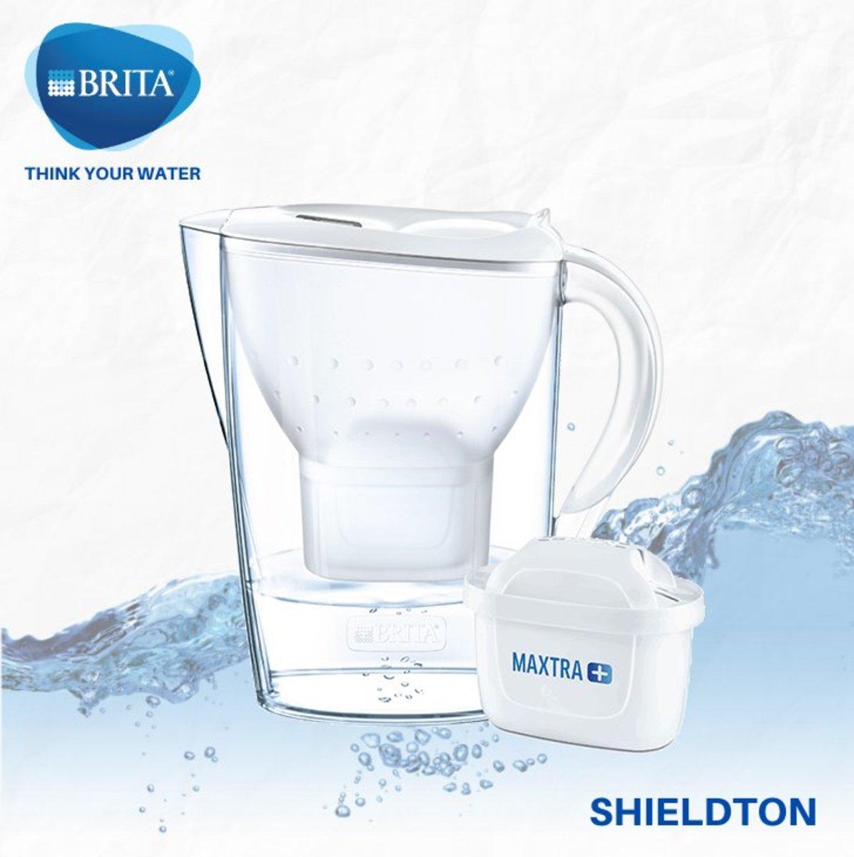 Marella XL 3.5L water filter jug (white)