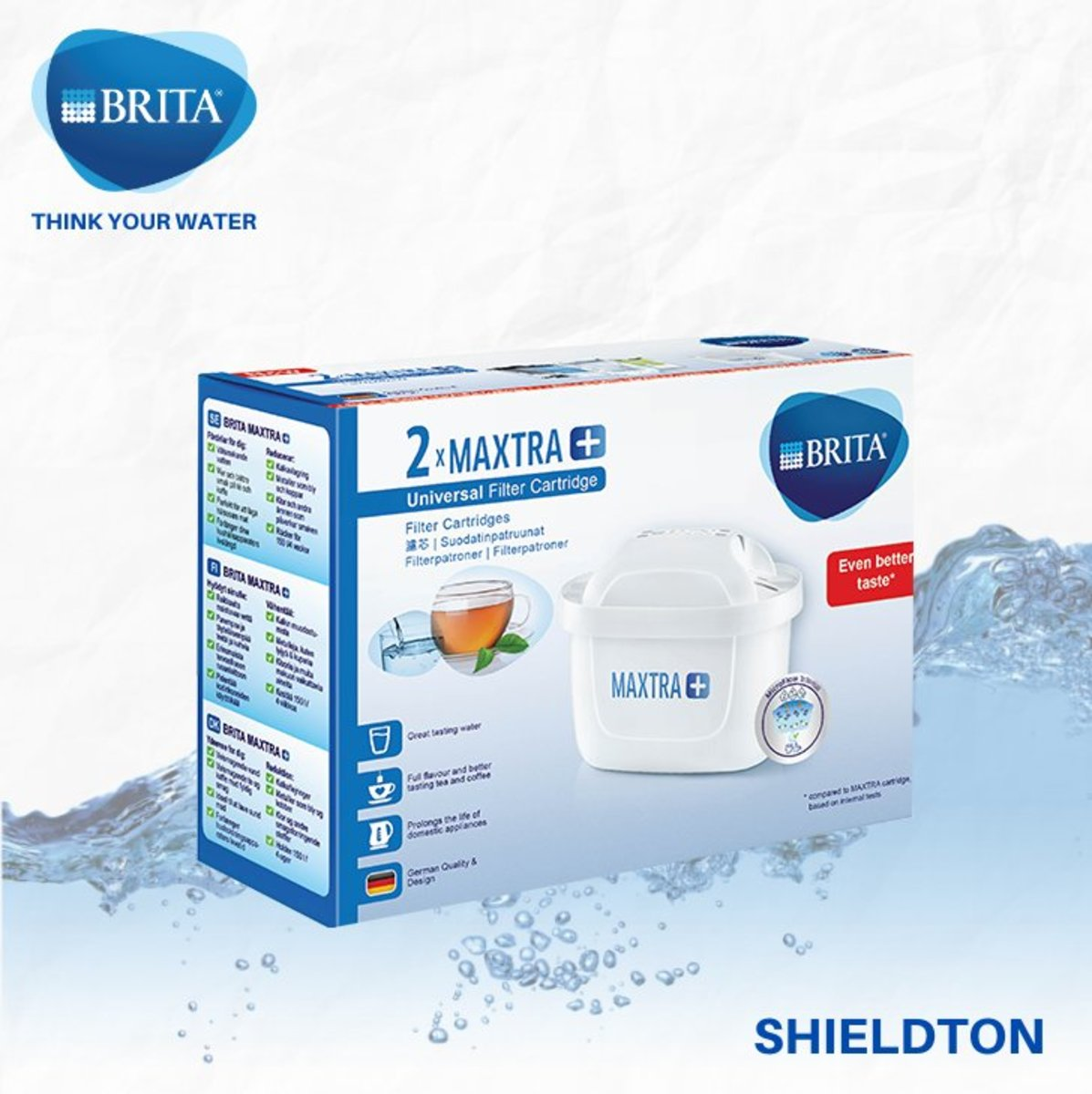 MAXTRA+ Universal filter cartridge (pack 2) ) - white