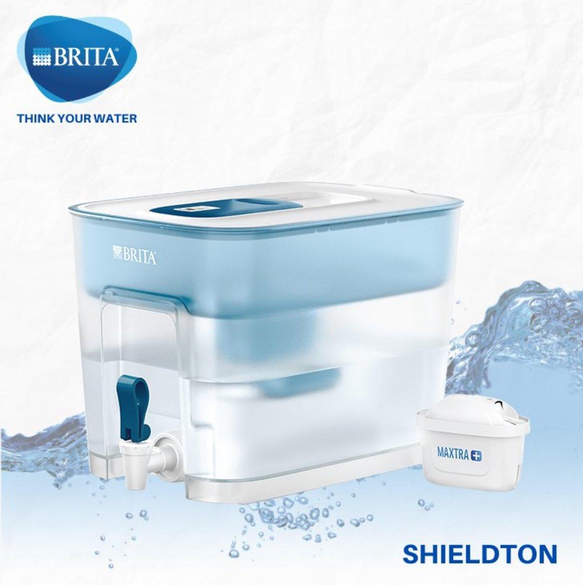Flow 8.2L water filter jug (basic blue)