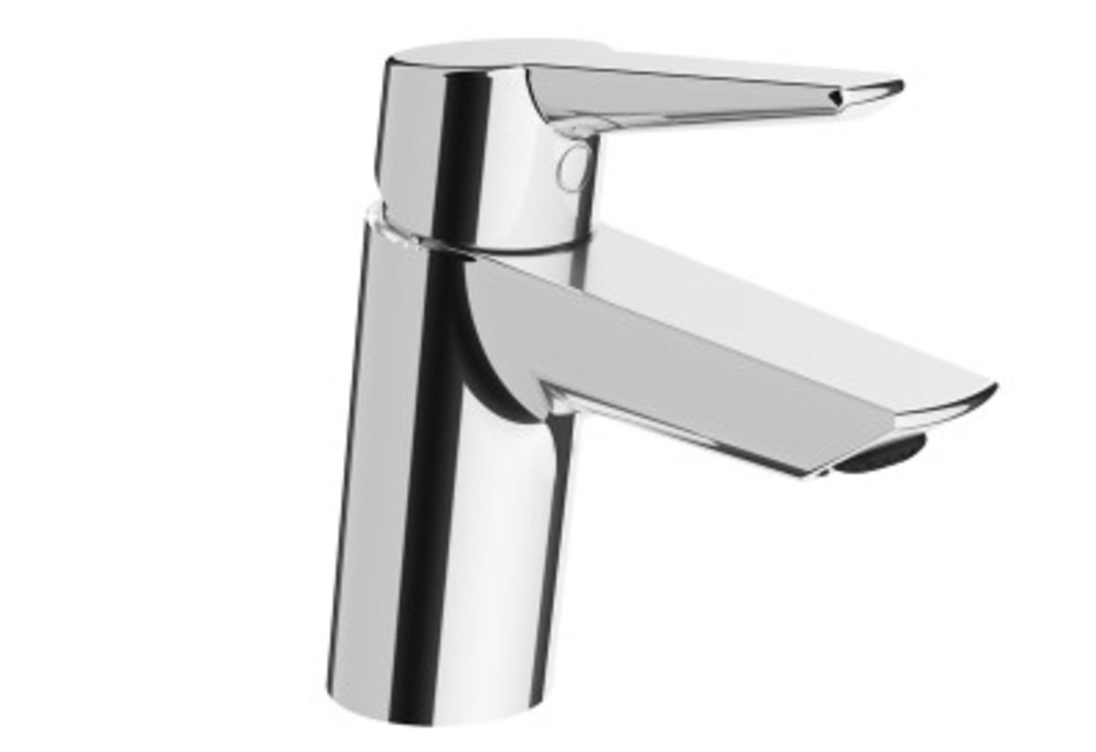 SOLID S BASIN MIXER - CHROME