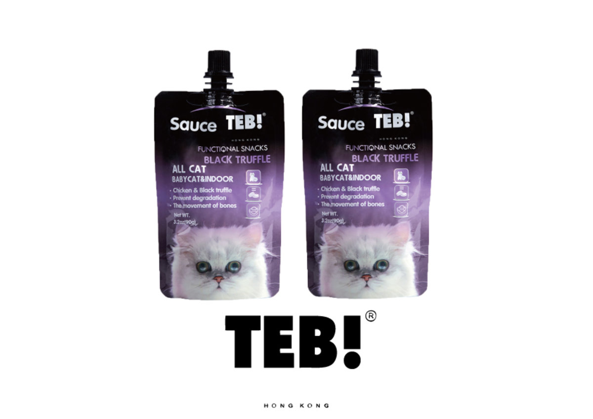 TEB! CHICKEN+BLACK TRUFFLE FUNCTIONAL SNACKDS 90g x2包