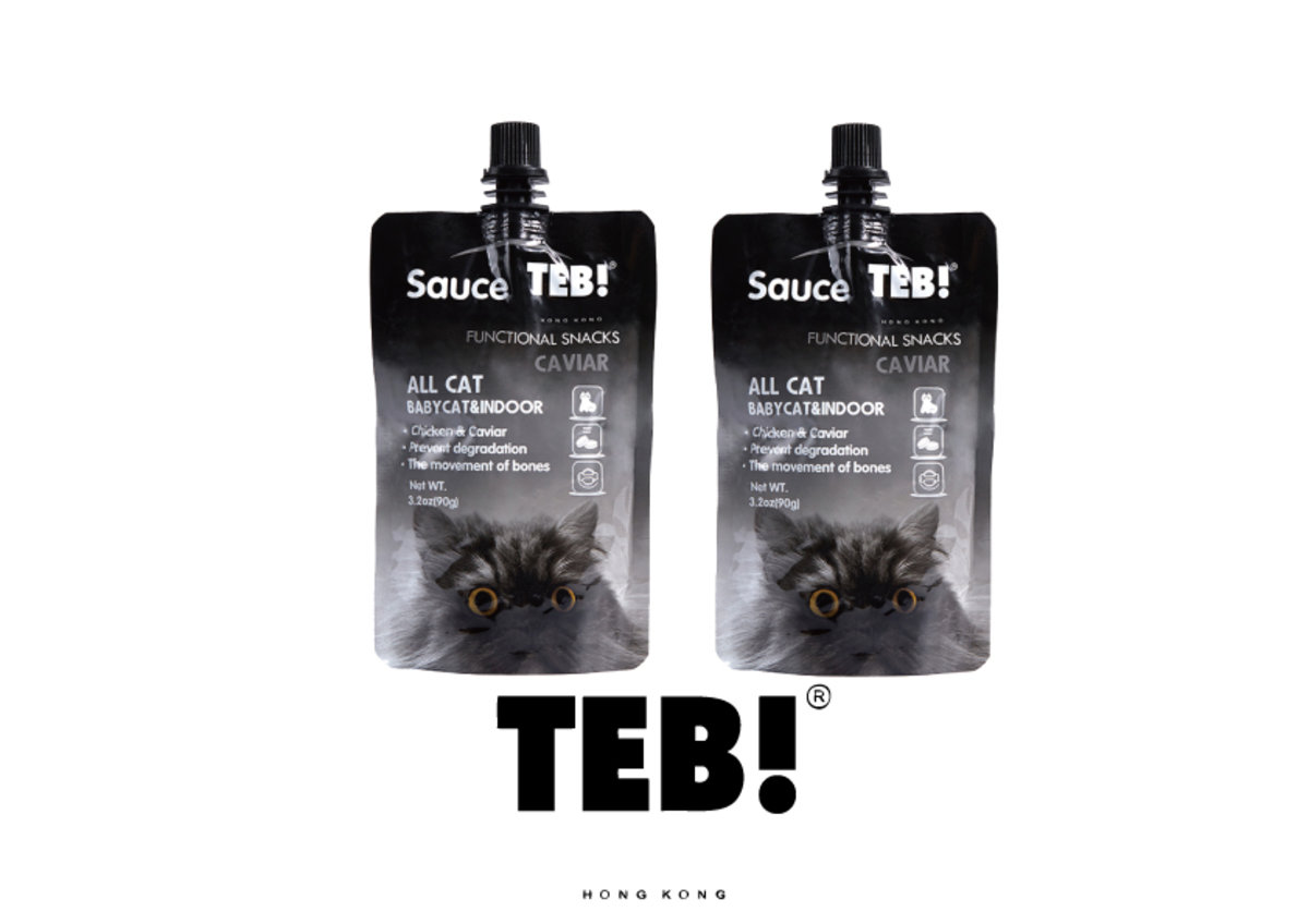 TEB! CHICKEN+CAVIAR FUNCTIONAL SNACKDS 90g x2包