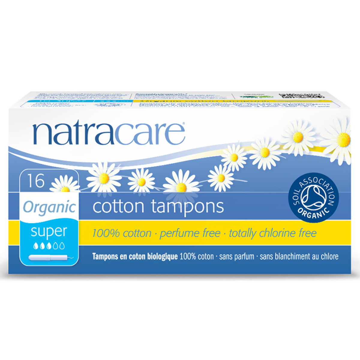 Natracare Tampons With Applicator-Super 16'S (Hong Kong)