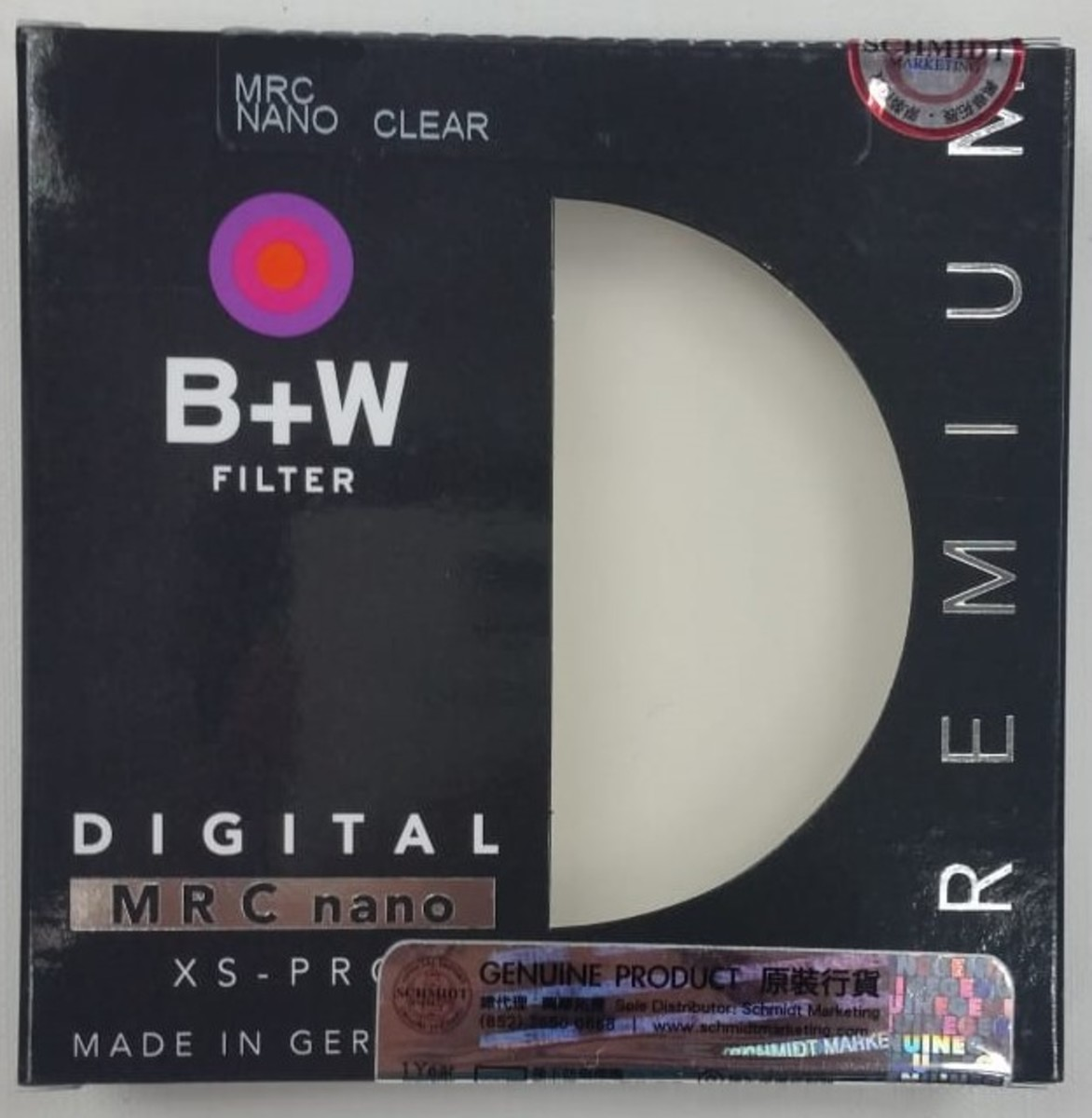58mm XS-Pro Digital 007 Clear filter MRC nano Protector頂級保護鏡
