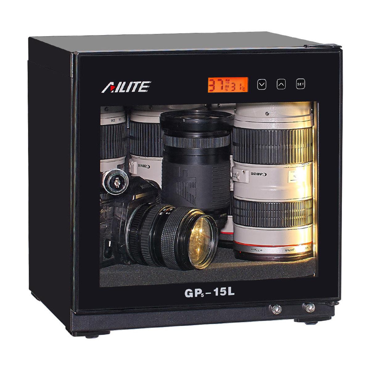 AiLite GP5-15L 15公升真電子防潮箱(電子控制版)