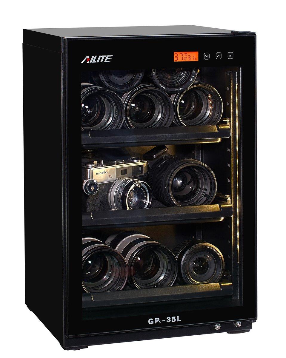 AiLite GP5-35L 35公升真電子防潮箱(電子控制版)