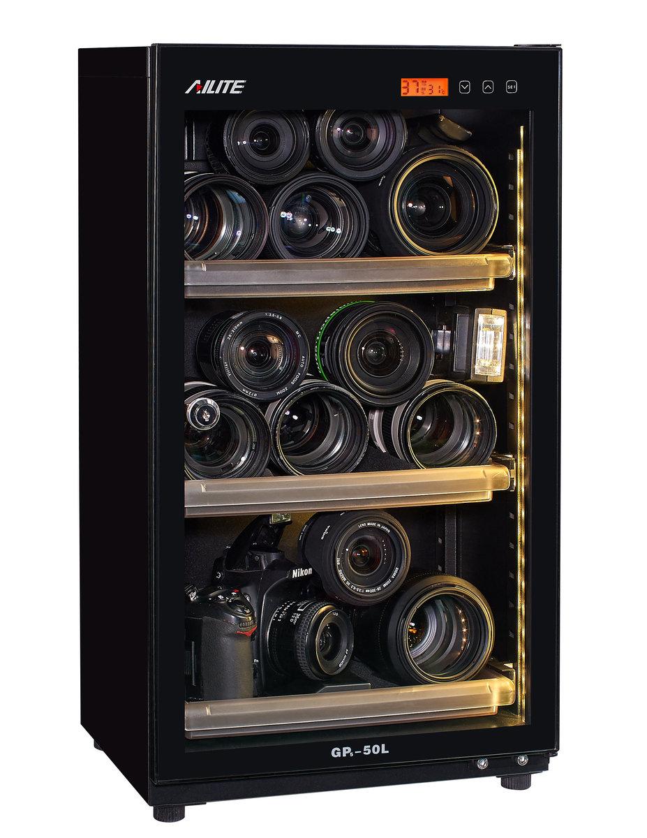 AiLite GP5-50L 50公升真電子防潮箱(電子控制版)