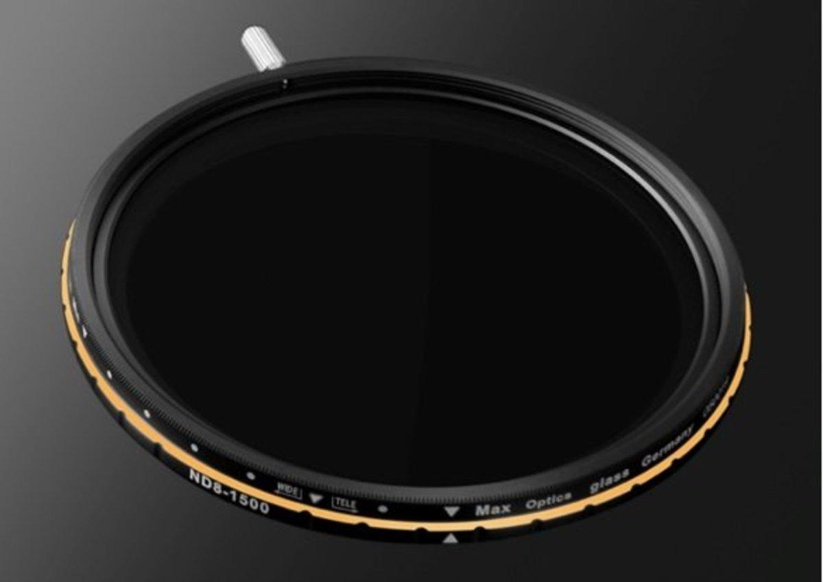 Pro Tanle Fader ND8-1500(w) 82mm Variable Neutral Density Filter (VND)