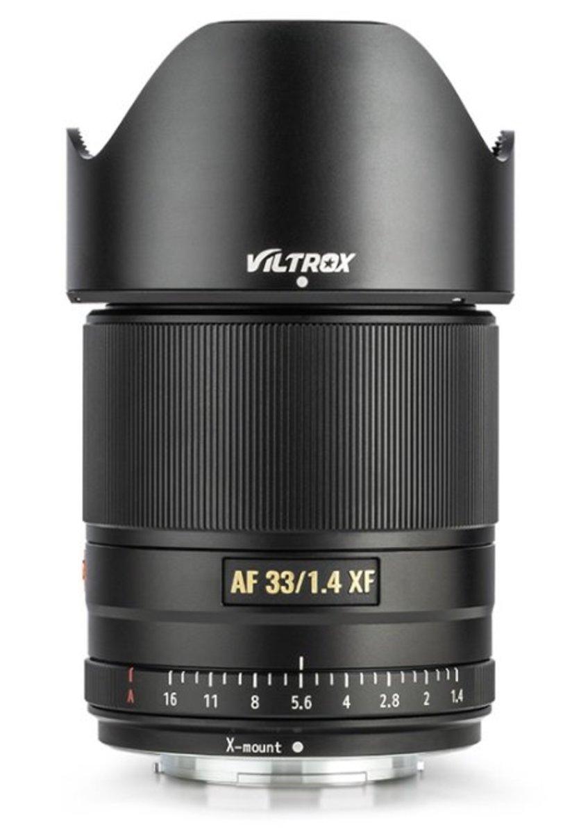 Viltrox AF33 F1.4 STM Prime Lens APS-C Auto Focus for Fuji X-Mount
