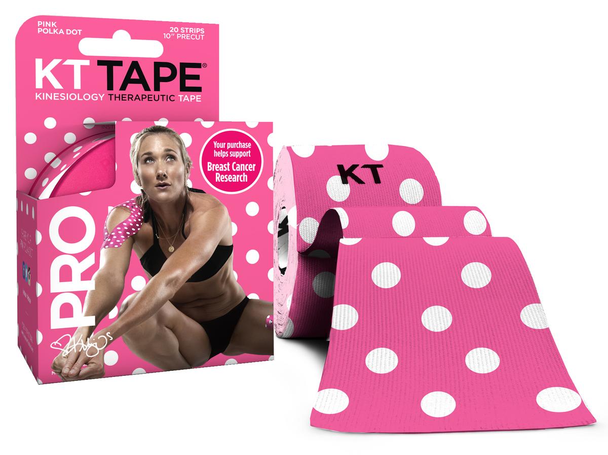 運動保護貼布限量版 Pink Polka Dot
