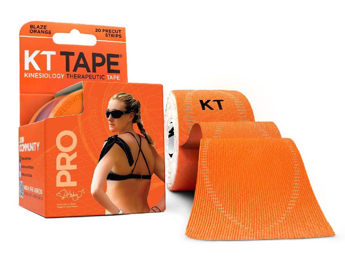 運動保護貼布 橙色