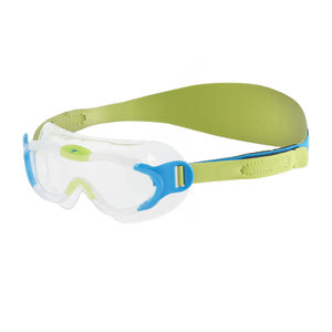 Speedo 幼童海洋Q隊習泳面鏡-綠 / 藍