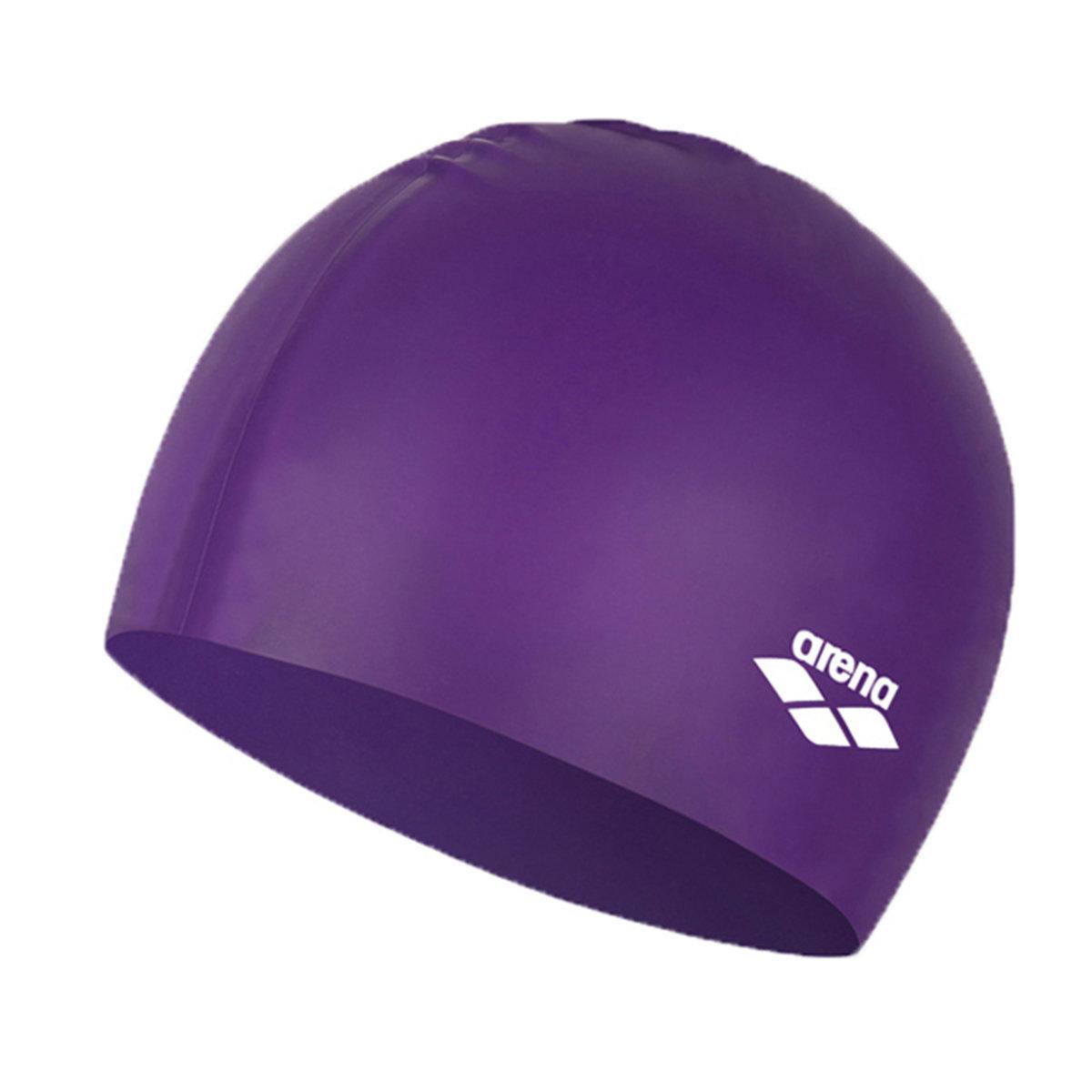模壓矽膠泳帽-紫