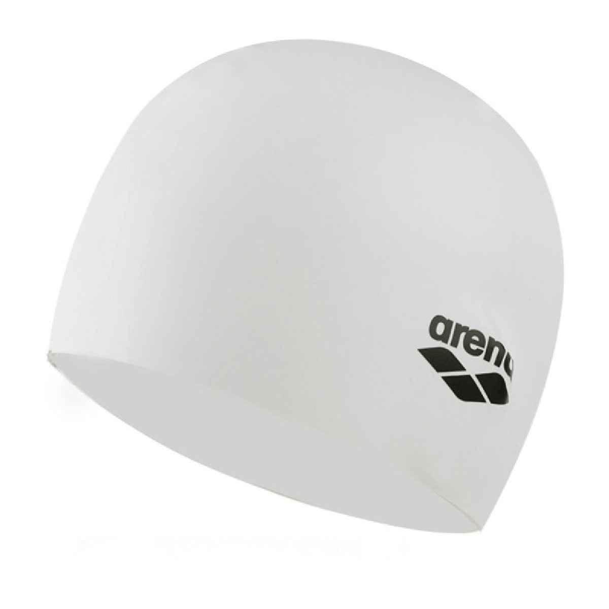 Plain Moulded Silicone Cap-White