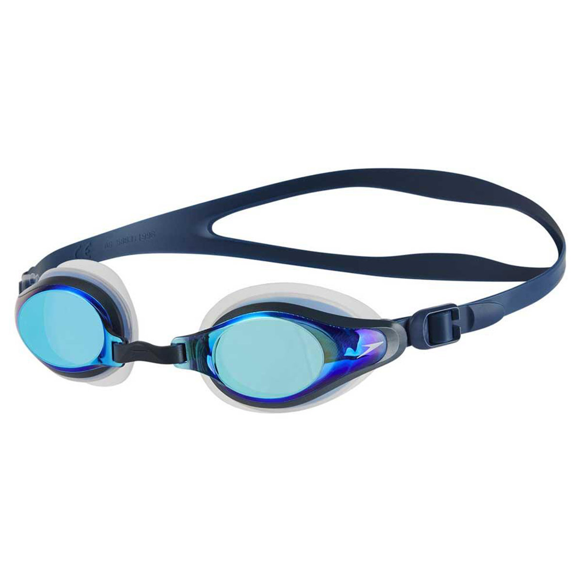 Adult's Mariner Supreme Mirror Goggle-Clear / Navy