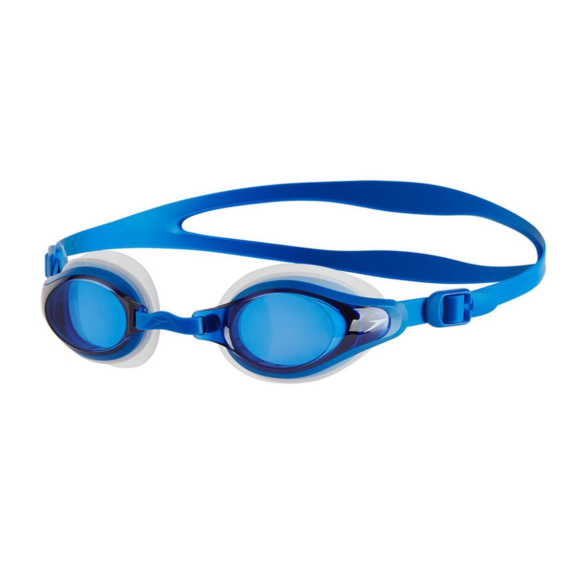 成人 Mariner Supreme 基礎訓練近視泳鏡-透明 / 藍