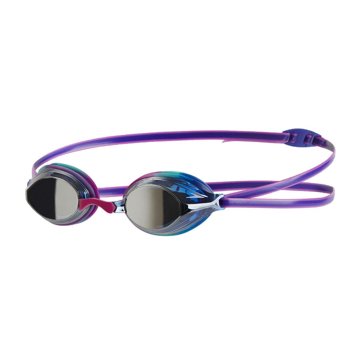 少年 Vengeance 競賽訓練鍍膜泳鏡-紫 / 藍 / 銀