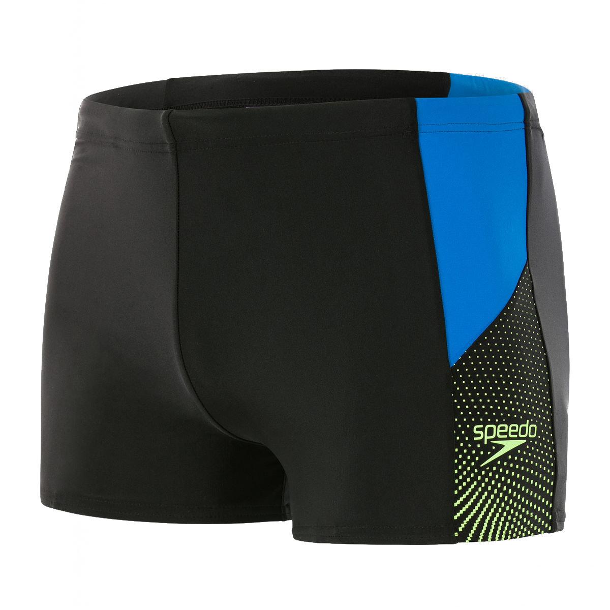 Men's Dive Aquashort-Black / Blue / Green