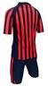 Child's Sun Protecton Short Sleeve 2 Pcs Suit-Red / Navy / Black