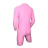小童長袖防曬套裝-粉紅