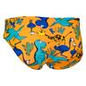 Kids Swim Brief - Dragon Holiday-Orange