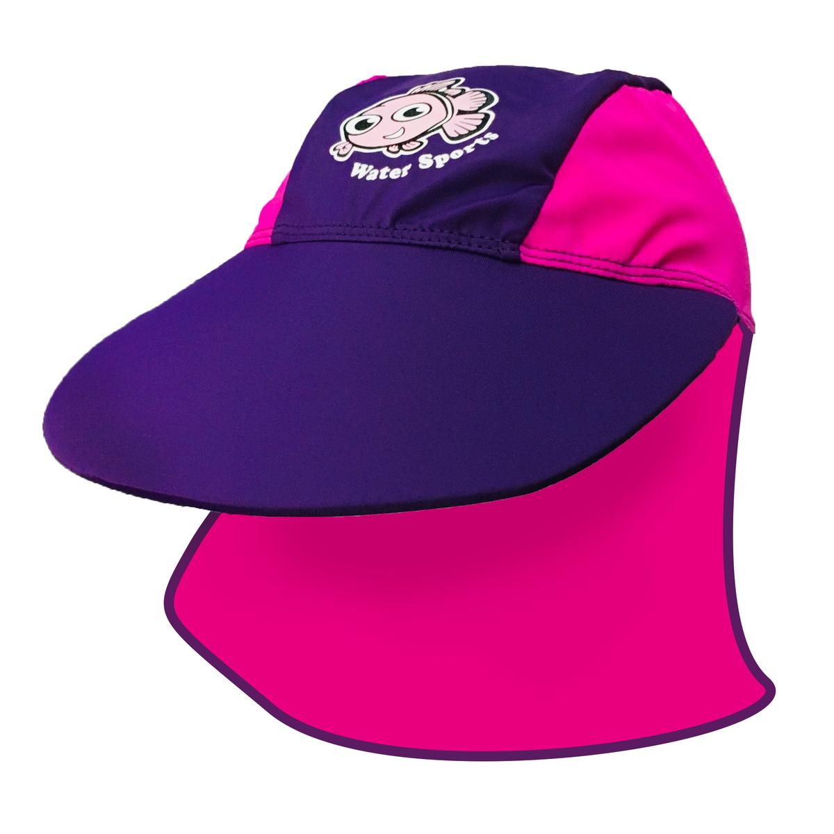 Child's Sun Protection Hat - Purple