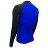 Adult's Sun Protection Jacket - Blue / Black