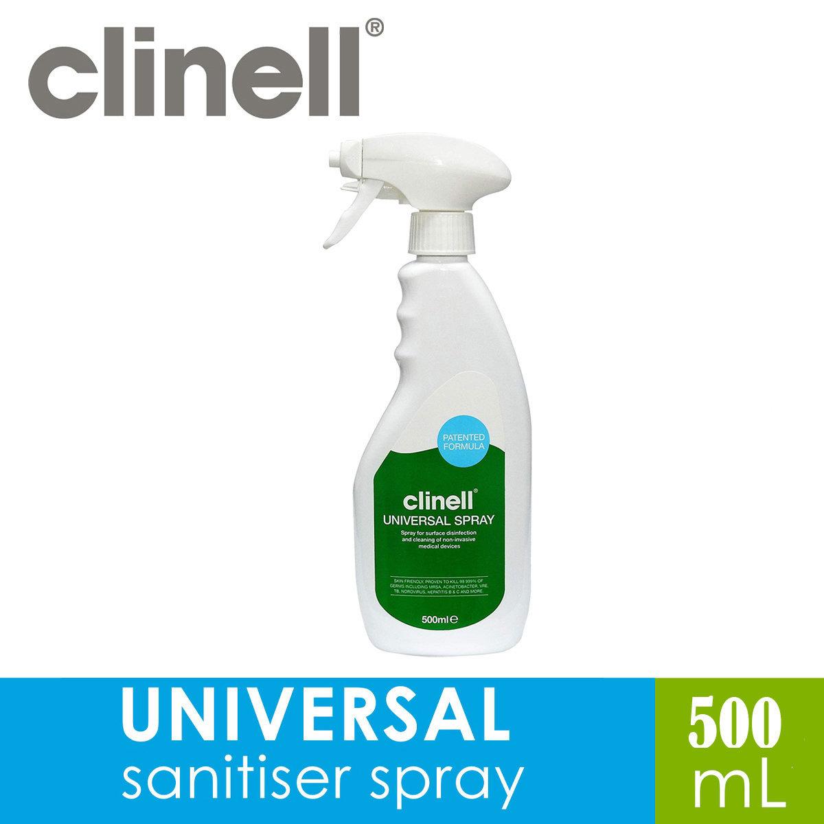 U.K. NHS (Hospital) Universal Spray 500ml Proven 99.999% Kill Rate