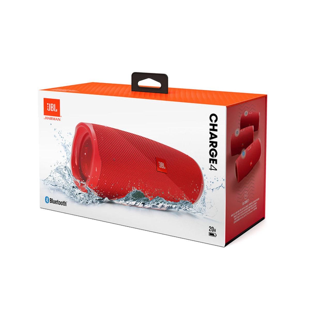 Charge 4 無線藍牙防水喇叭 紅色-平衡進口貨