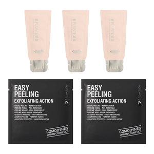 Sample of Korea UV Perfect Block Essence (3 pcs) and Easy Peeling (2 pcs)