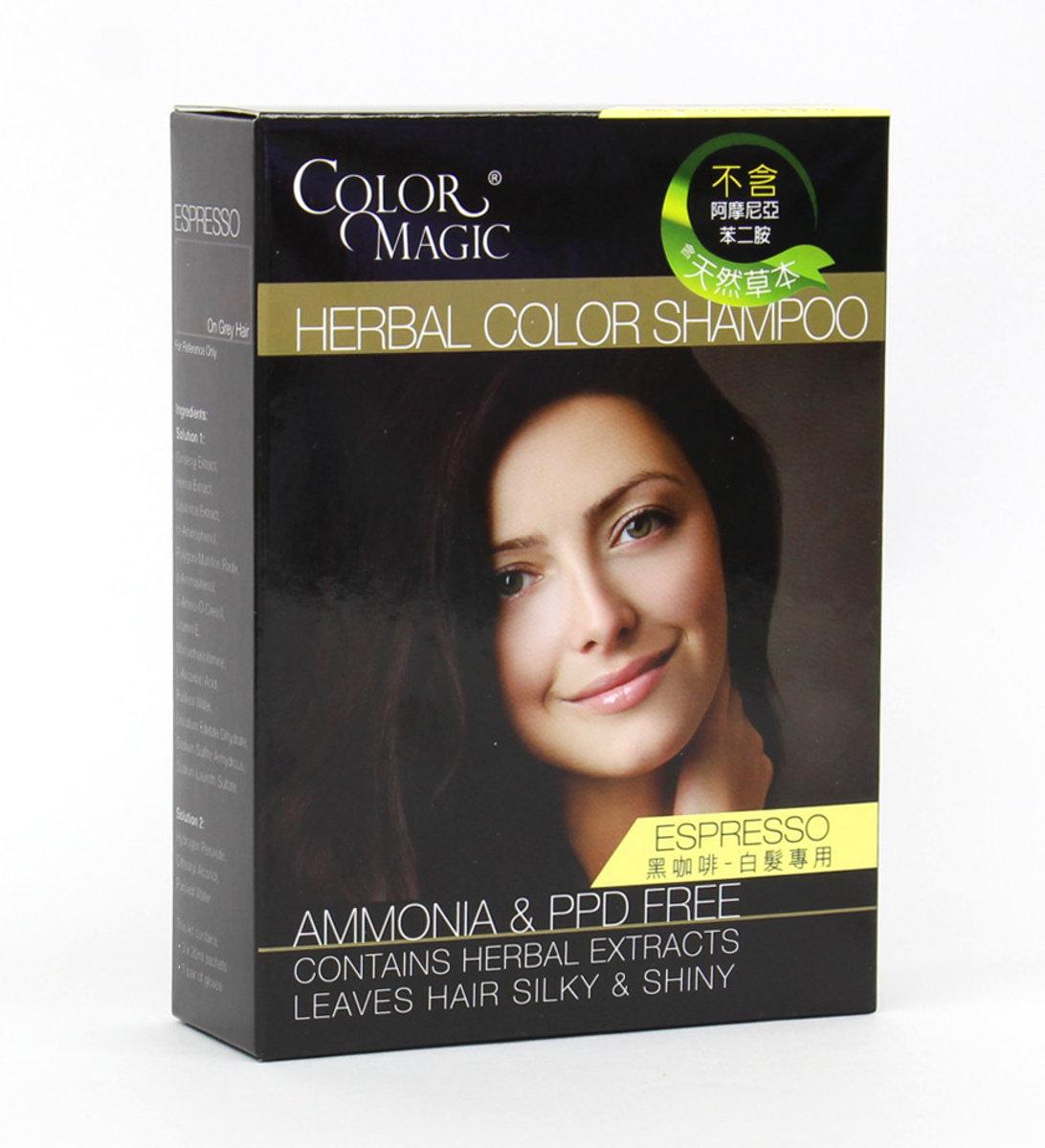 Herbal Color Shampoo (Espresso)