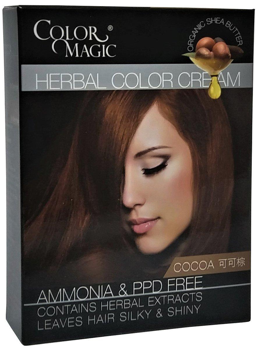 Herbal Color Cream (Cocoa)