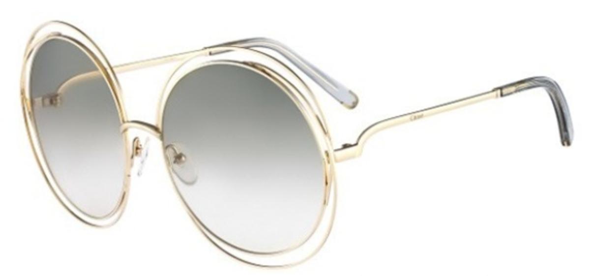 太陽眼鏡 CE114S 金/透明淺灰色