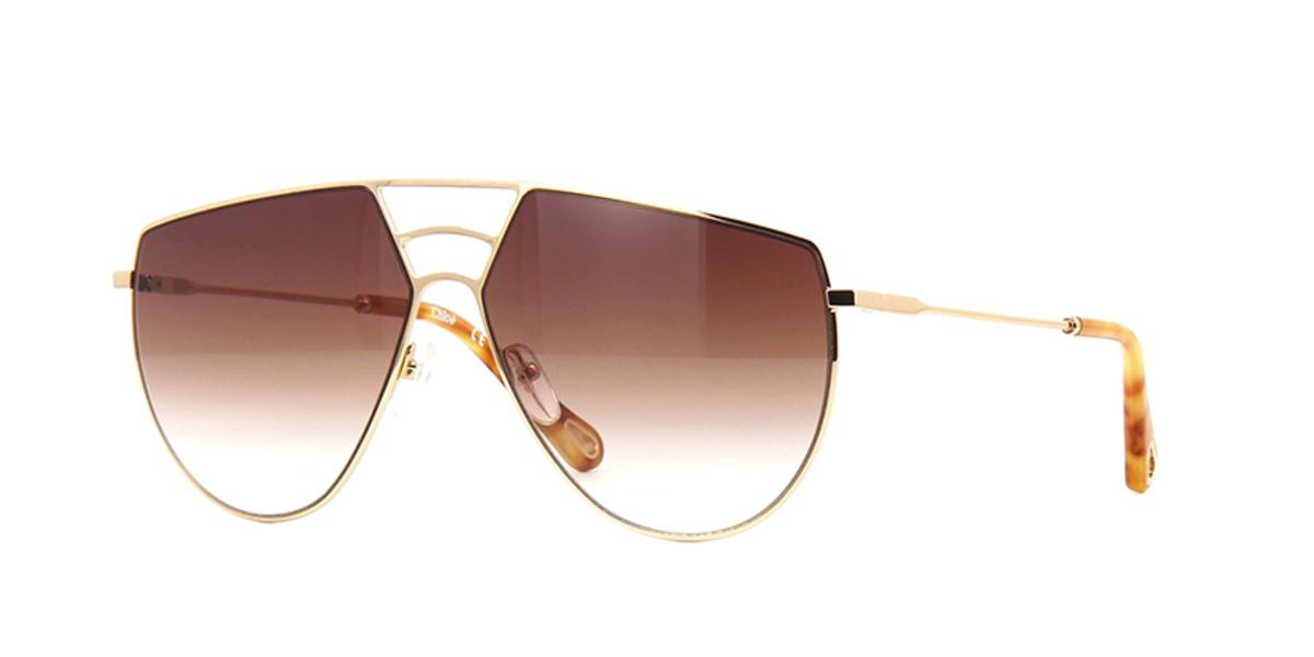 太陽眼鏡 CE139S 金/啡色