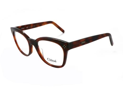 Chloé 眼鏡 CE2703 玳瑁紅色