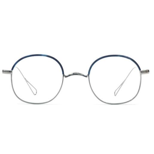 眼鏡 SC-Hem04 銀/藍色