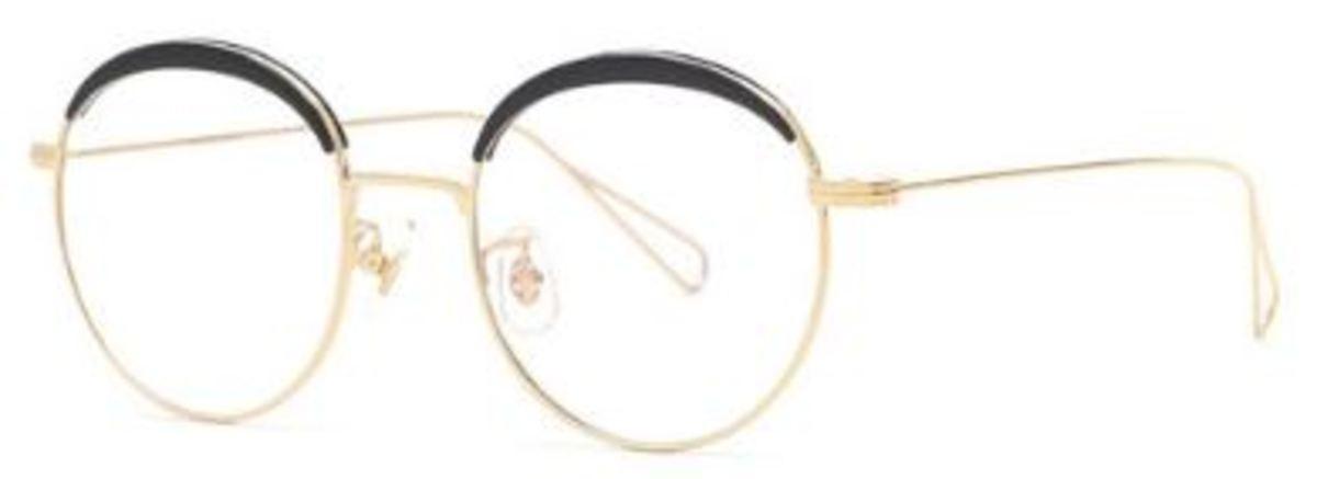 眼鏡 SC-Mil04 黑/金色