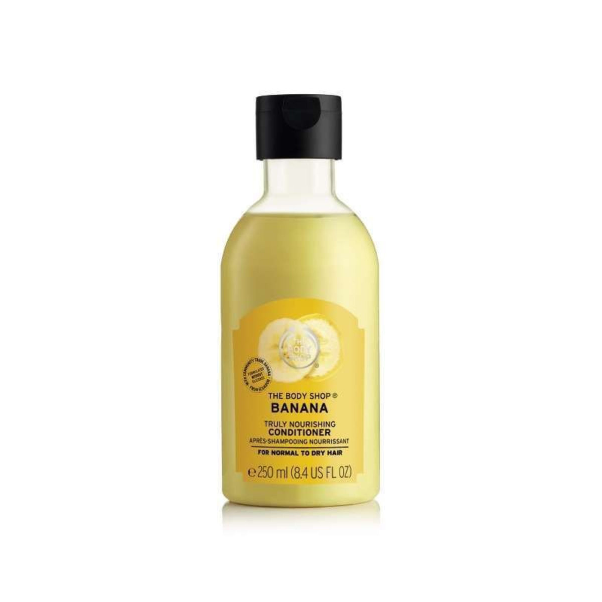 The Body Shop Banana Truly Nourishing Conditioner 250ml (Parallel imported products)