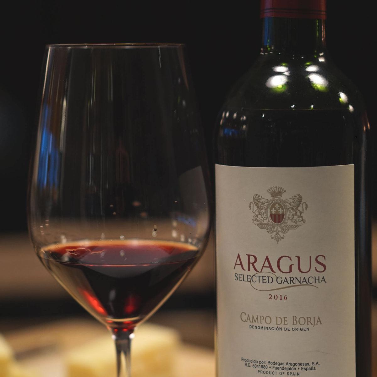 Spain Aragus Redwine 750ml