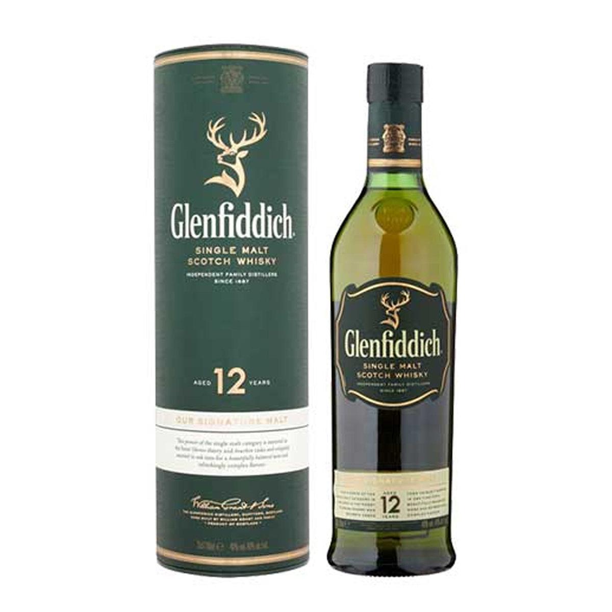 格蘭菲迪蘇格蘭威士忌12年(單一純麥芽) 750毫升
