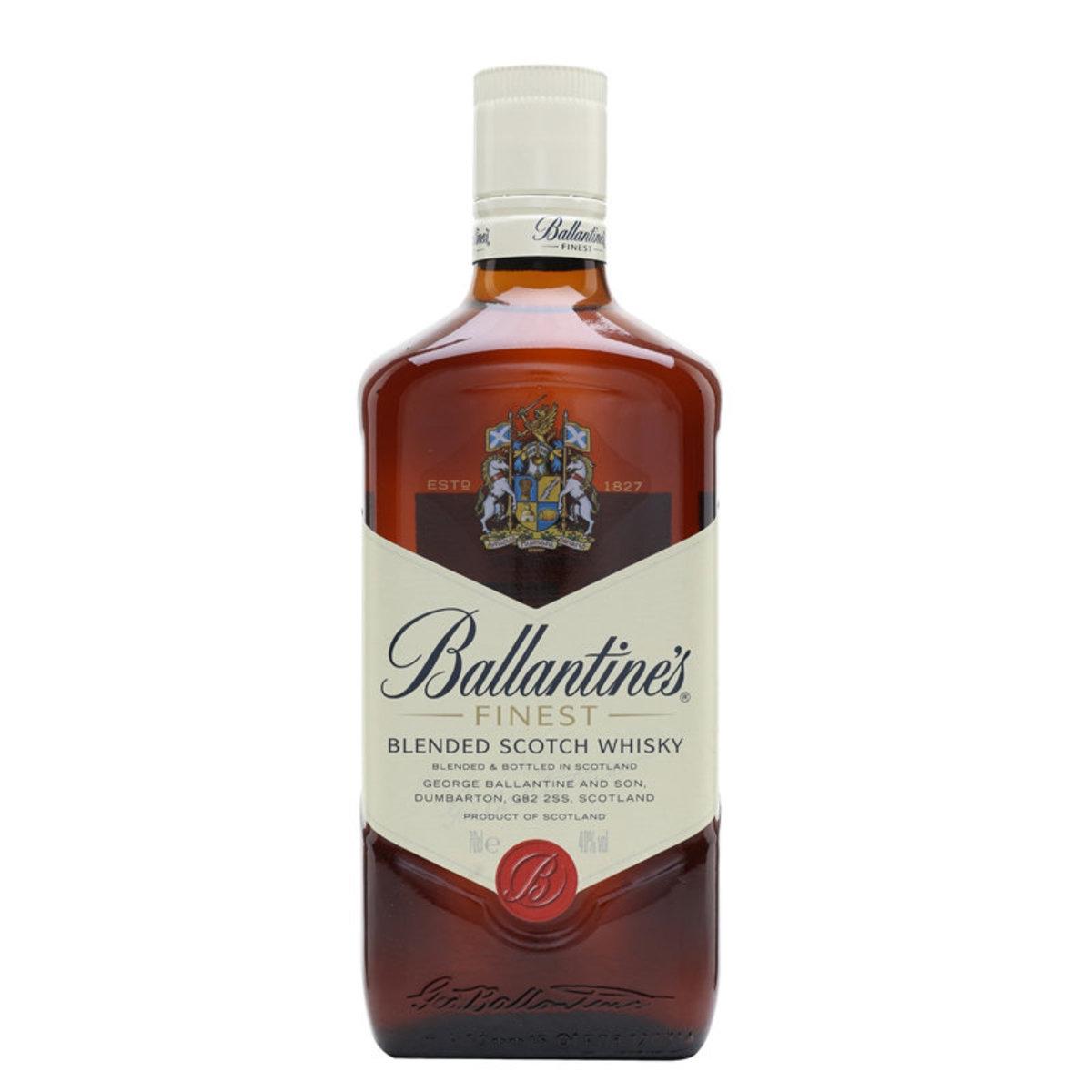 Ballantine's Finest Blended Scotch Whiskey (1 Ltr)
