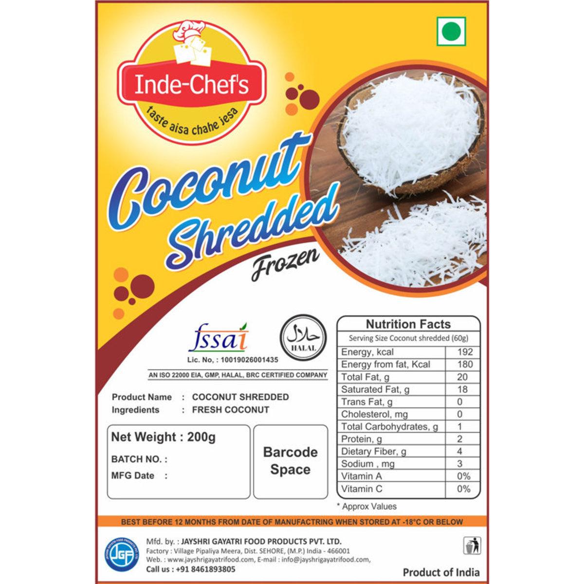 Shredded Coconut 200 gm x 2