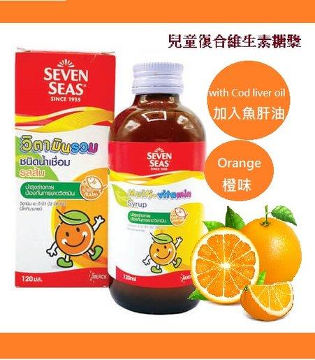 兒童復合維生素糖漿120ml(平行進口)