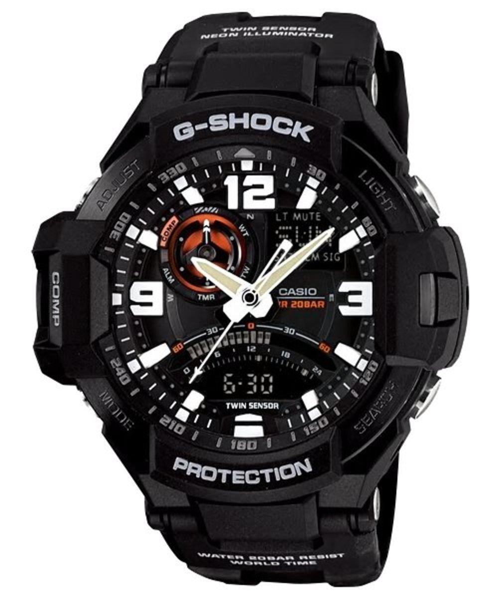 GRAVITYMASTER 手錶 (GA-1000-1ADR) **一年保養**