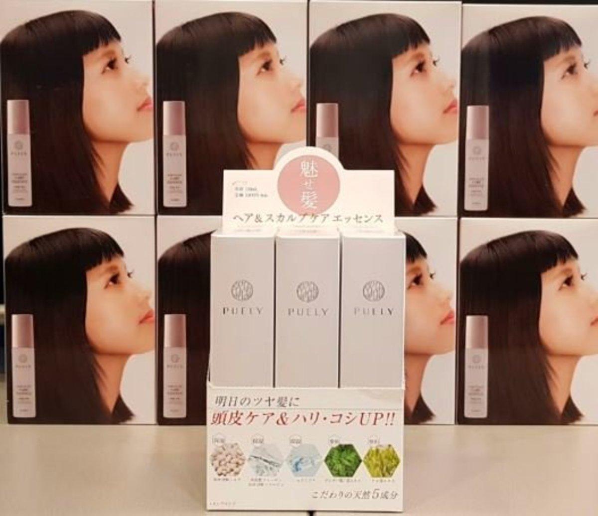 日本 PUELY 頭髮及頭皮保護精華液 120ml (六支裝)